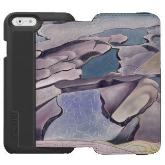 Capa Carteira Incipio Watson™ Para iPhone 6 Plataforma da rocha e piscina maré
