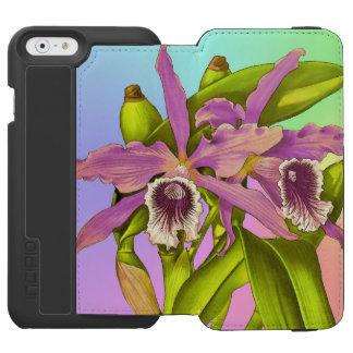 Capa Carteira Incipio Watson™ Para iPhone 6 Pop da orquídea