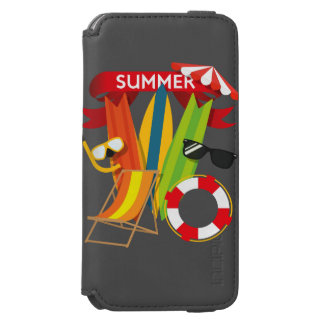 Capa Carteira Incipio Watson™ Para iPhone 6 Praia Watersports do verão