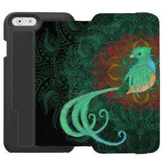 Capa Carteira Incipio Watson™ Para iPhone 6 Quetzal encaracolado