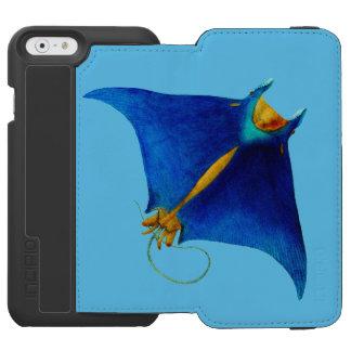 Capa Carteira Incipio Watson™ Para iPhone 6 raio de manta