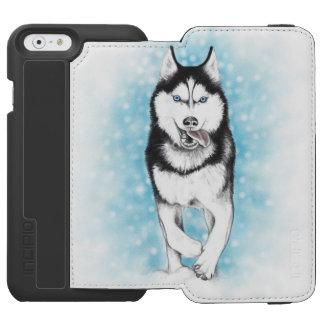 Capa Carteira Incipio Watson™ Para iPhone 6 Rouco Siberian
