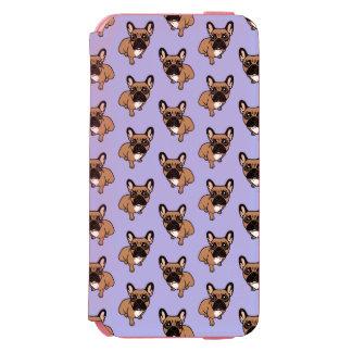 Capa Carteira Incipio Watson™ Para iPhone 6 Seja agradável à jovem corça preta bonito Frenchie
