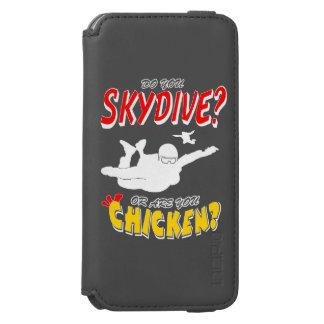 Capa Carteira Incipio Watson™ Para iPhone 6 Skydive ou galinha? (branco)
