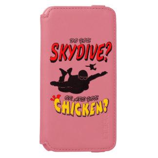 Capa Carteira Incipio Watson™ Para iPhone 6 Skydive ou galinha? (preto)