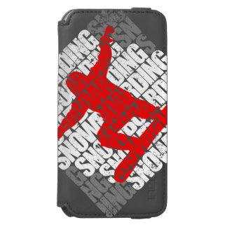 Capa Carteira Incipio Watson™ Para iPhone 6 Snowboarding #1 (branca)