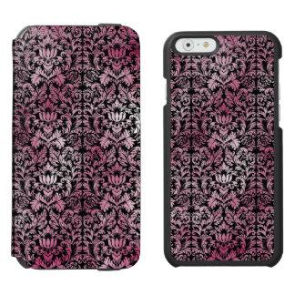 Capa Carteira Incipio Watson™ Para iPhone 6 Teste padrão envelhecido do impressão da orquídea