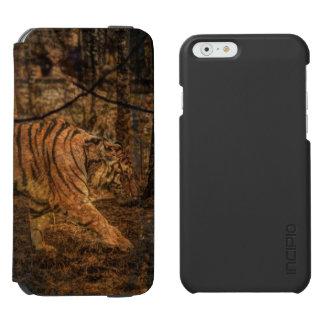 Capa Carteira Incipio Watson™ Para iPhone 6 Tigre selvagem majestoso dos animais selvagens da