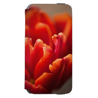 Capa Carteira Incipio Watson™ Para iPhone 6 Tulipa vermelha