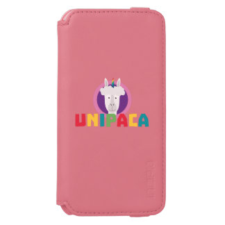 Capa Carteira Incipio Watson™ Para iPhone 6 Unicórnio Unipaca Z4srx da alpaca