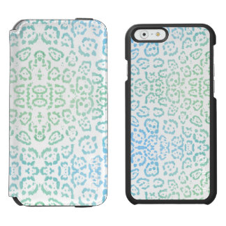 Capa Carteira Incipio Watson™ Para iPhone 6 Verde animal Pastel do impressão de Kawaii do