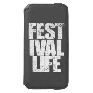 Capa Carteira Incipio Watson™ Para iPhone 6 VIDA do FESTIVAL (branca)