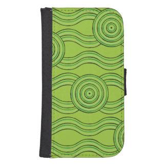 Capa Carteira Para Galaxy S4 Floresta húmida aborígene da arte