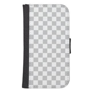 Capa Carteira Para Galaxy S4 Luz - tabuleiro de damas cinzento