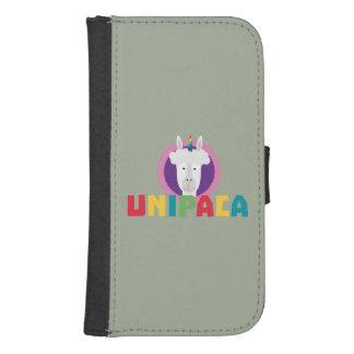 Capa Carteira Para Galaxy S4 Unicórnio Unipaca Z4srx da alpaca
