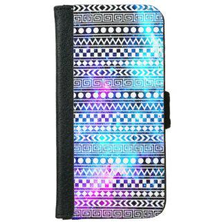 Capa Carteira Para iPhone 6/6s A galáxia da nebulosa Stars a caixa tribal da