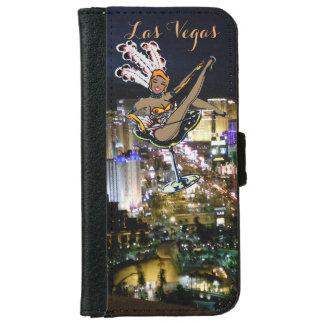Capa Carteira Para iPhone 6/6s Artista da tira de Las Vegas
