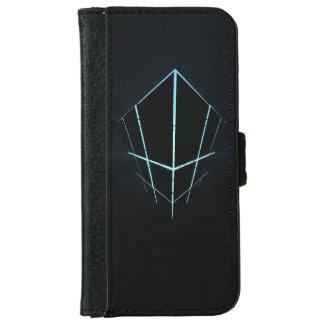 Capa Carteira Para iPhone 6/6s Azul Boxy