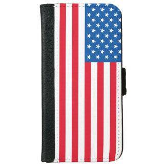 Capa Carteira Para iPhone 6/6s Bandeira dos Estados Unidos da bandeira dos EUA