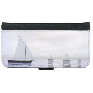 Capa Carteira Para iPhone 6/6s Barcos de navigação - 3D rendem