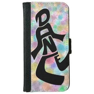 Capa Carteira Para iPhone 6/6s Caixa brilhante da carteira do iPhone 6 da dança