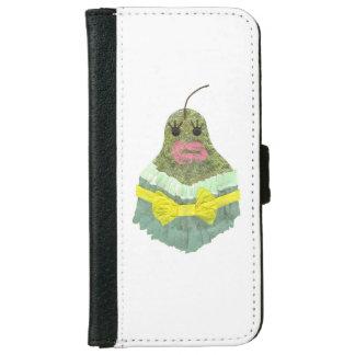 Capa Carteira Para iPhone 6/6s Caixa da carteira da senhora Pera IPhone 6/6s