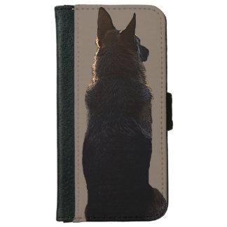 Capa Carteira Para iPhone 6/6s Caixa da carteira do iPhone do german shepherd
