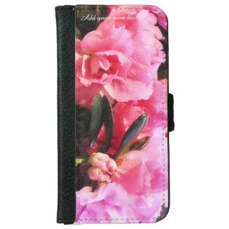 Capa Carteira Para iPhone 6/6s Caixa da carteira do telefone da azálea
