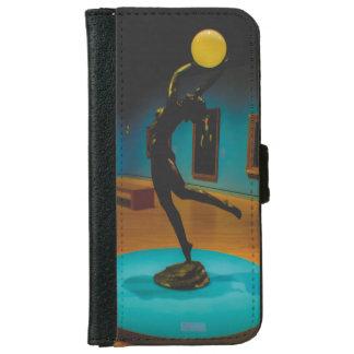 """Capa Carteira Para iPhone 6/6s Caso """"estátua """" da arte"""