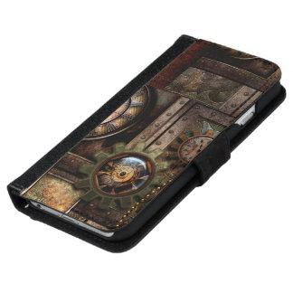 Capa Carteira Para iPhone 6/6s Design maravilhoso do steampunk
