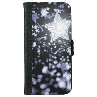 Capa Carteira Para iPhone 6/6s Estrelas do vôo