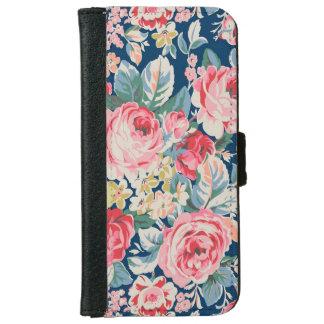Capa Carteira Para iPhone 6/6s Flores de florescência modernas adoráveis bonitos