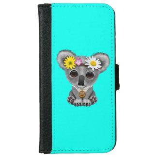 Capa Carteira Para iPhone 6/6s Hippie bonito do Koala do bebê