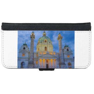 Capa Carteira Para iPhone 6/6s Igreja do santo Charles, Viena