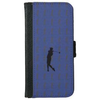Capa Carteira Para iPhone 6/6s Jogador de golfe