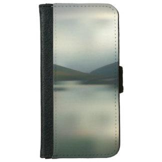 Capa Carteira Para iPhone 6/6s Lago nas montanhas