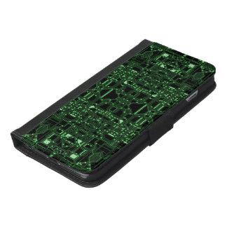 Capa Carteira Para iPhone 6/6s Plus Automatizado