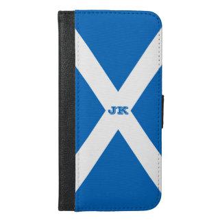 Capa Carteira Para iPhone 6/6s Plus Bandeira de Scotland ou de Saltire
