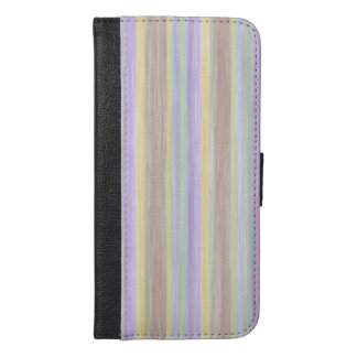 Capa Carteira Para iPhone 6/6s Plus design do estilo das cores pastel do livro da