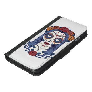 Capa Carteira Para iPhone 6/6s Plus Dia da mulher do morto