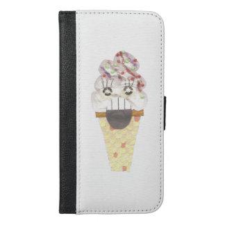 Capa Carteira Para iPhone 6/6s Plus Eu grito IPhone 6/6s mais a caixa da carteira
