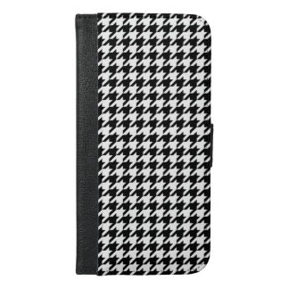 Capa Carteira Para iPhone 6/6s Plus Houndstooth