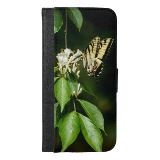 Capa Carteira Para iPhone 6/6s Plus iPhone 6/6s da borboleta de Swallowtail do tigre