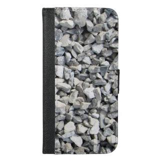 Capa Carteira Para iPhone 6/6s Plus iPhone 6/6s do design da pedra calcária mais o