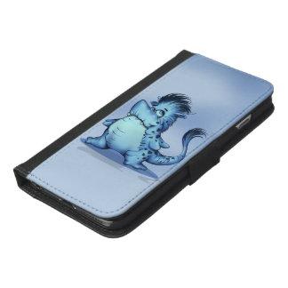 Capa Carteira Para iPhone 6/6s Plus iPhone 6/6s dos DESENHOS ANIMADOS dos PEIXES do
