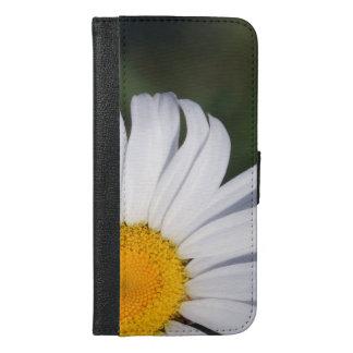 Capa Carteira Para iPhone 6/6s Plus iPhone deslocado 6/6s da margarida mais a caixa da