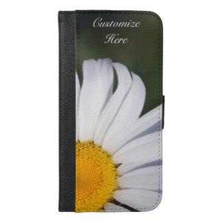 Capa Carteira Para iPhone 6/6s Plus iPhone deslocado personalizado 6/6s da margarida