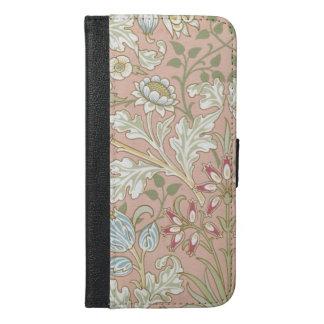 Capa Carteira Para iPhone 6/6s Plus Jacinto GalleryHD de William Morris do vintage