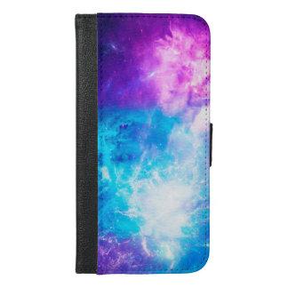 Capa Carteira Para iPhone 6/6s Plus O céu da criação