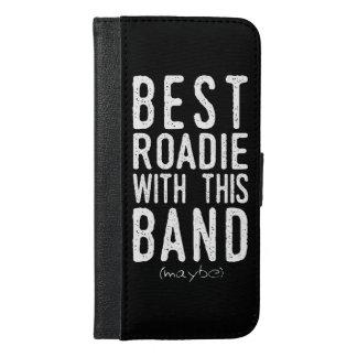 Capa Carteira Para iPhone 6/6s Plus O melhor Roadie (talvez) (branco)